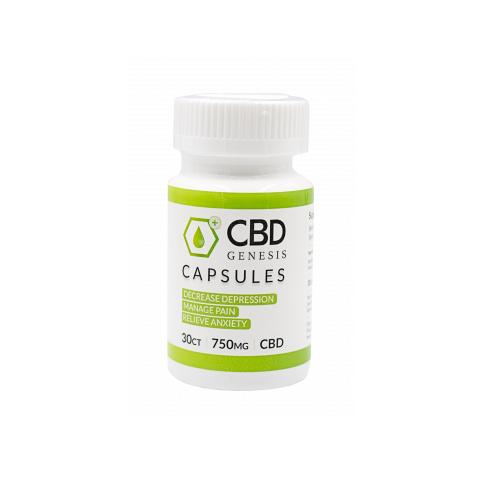 cbd genesis capsules
