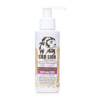 CBD Lion Body Lotion