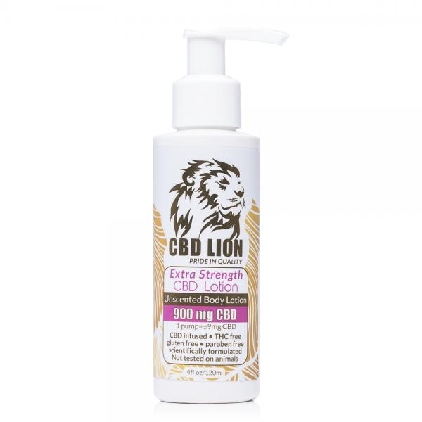 CBD Lion Body Lotion