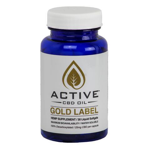 active cbd oil capsules