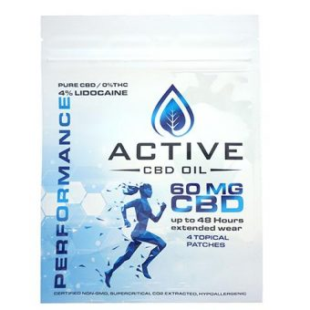 active cbd performance patch