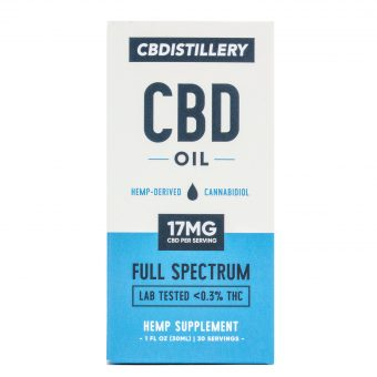 cbdistillery cbd oil full spectrum
