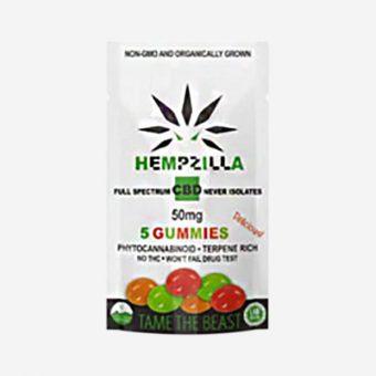 hempzilla cbd gummies